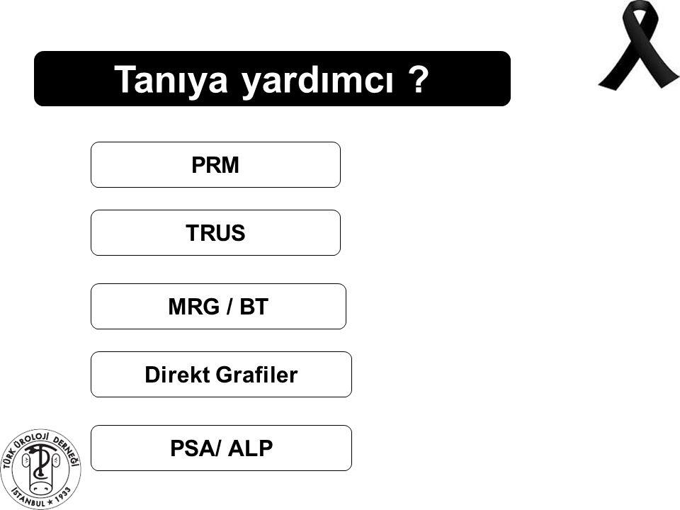 Tanıya yardımcı PRM TRUS MRG / BT Direkt Grafiler PSA/ ALP