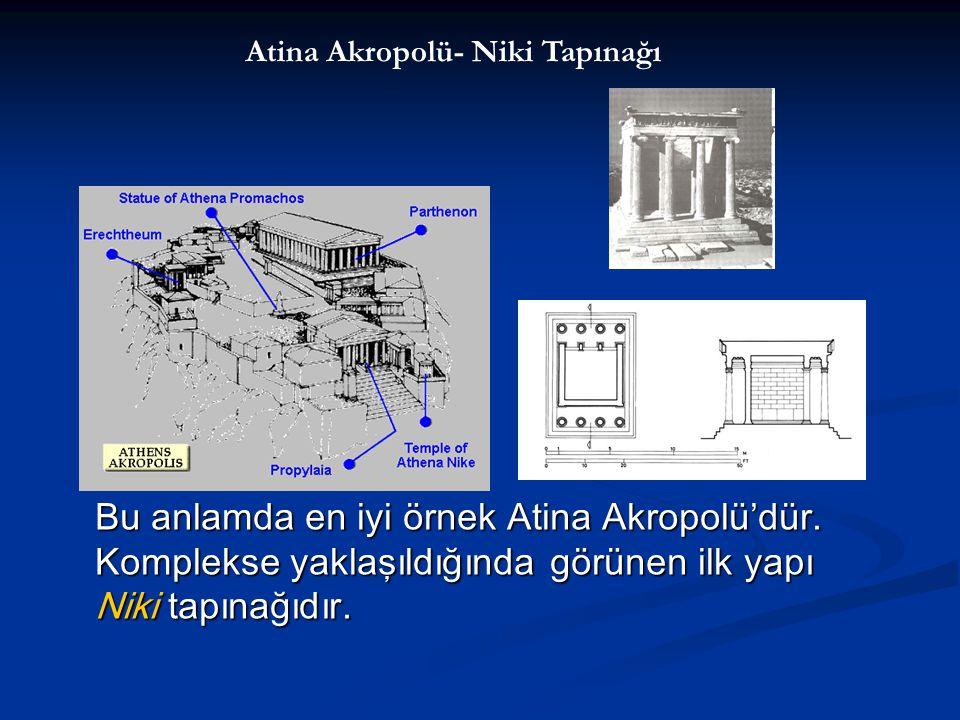 Atina Akropolü- Niki Tapınağı