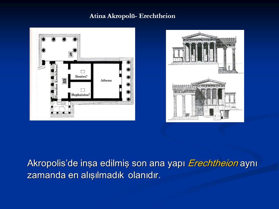 Atina Akropolü- Erechtheion