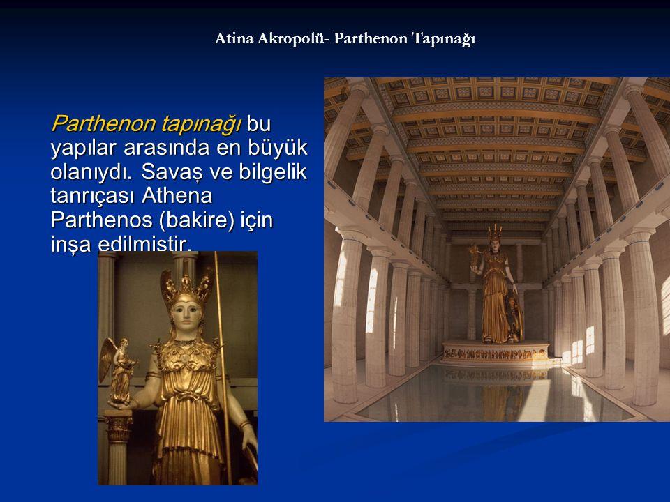 Atina Akropolü- Parthenon Tapınağı
