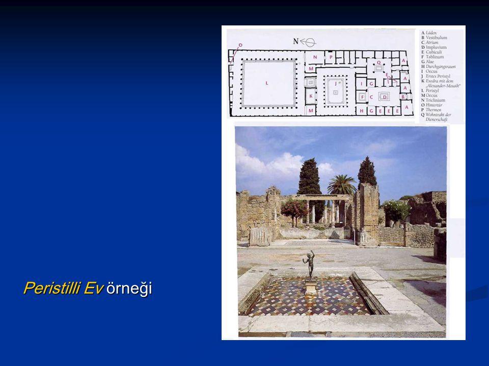 Peristilli Ev örneği