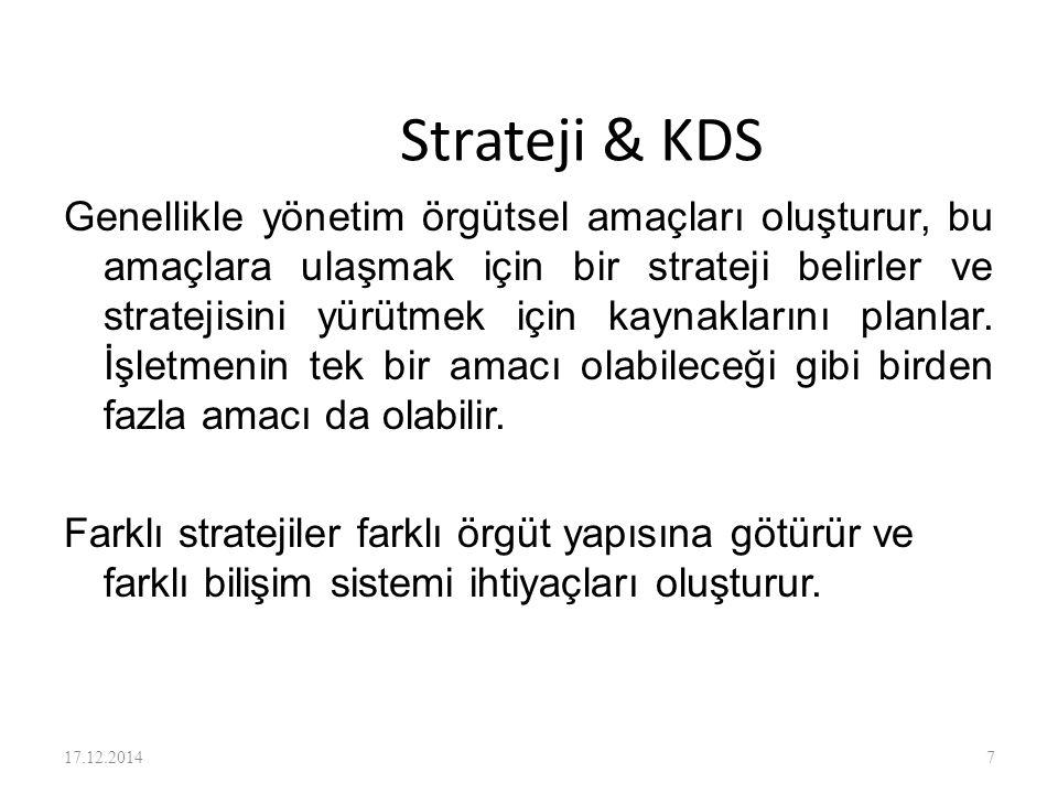 Strateji & KDS