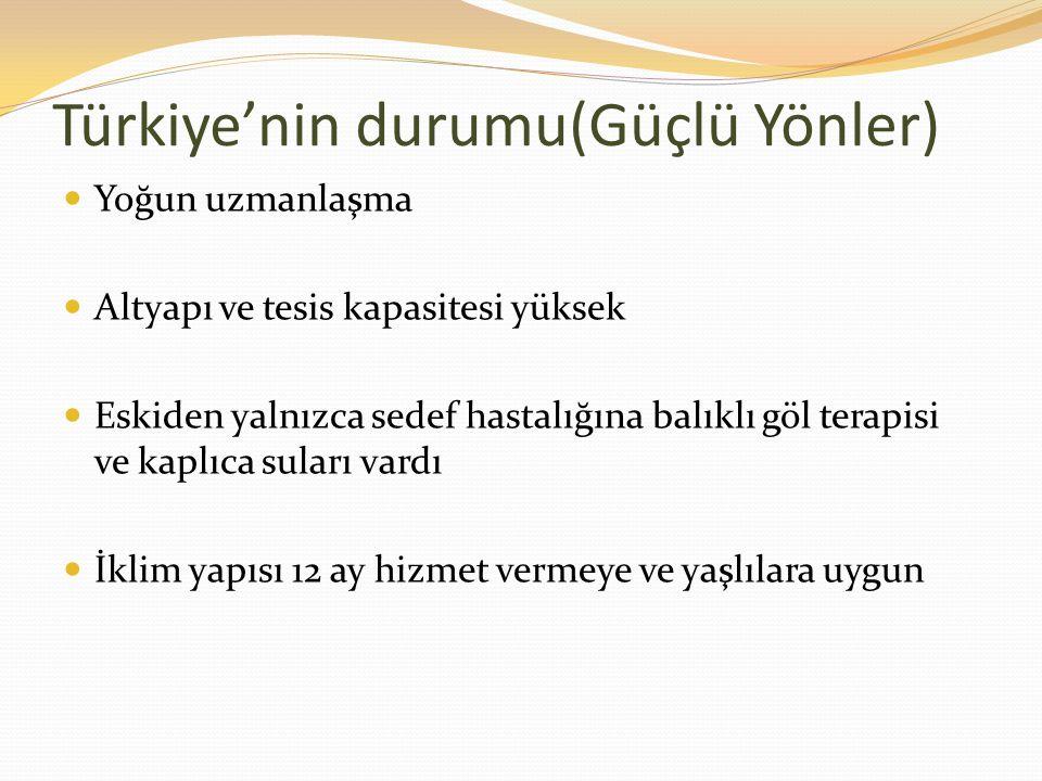 Türkiye'nin durumu(Güçlü Yönler)