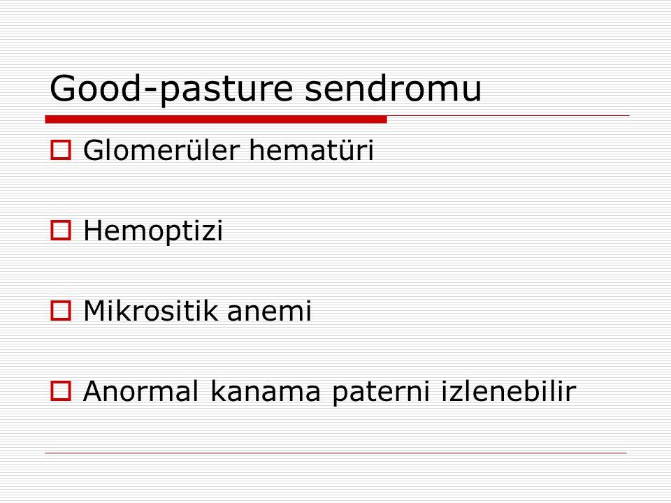 Good-pasture sendromu