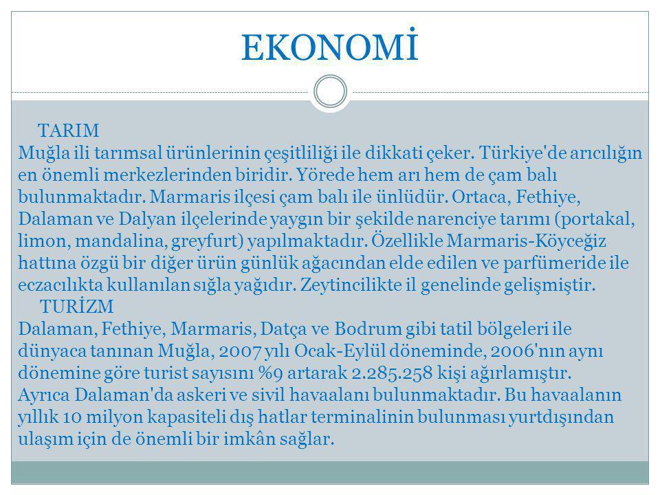 EKONOMİ TARIM.