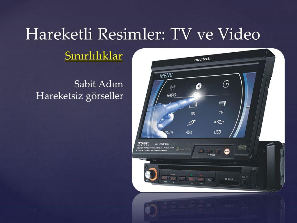 Hareketli Resimler: TV ve Video