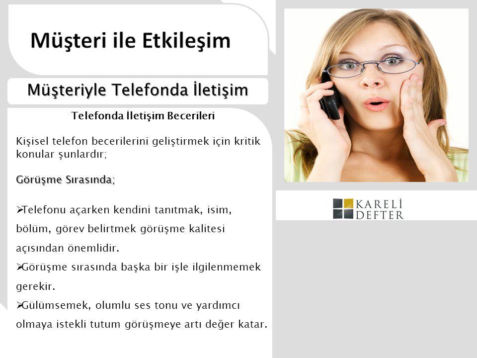 Telefonda İletişim Becerileri