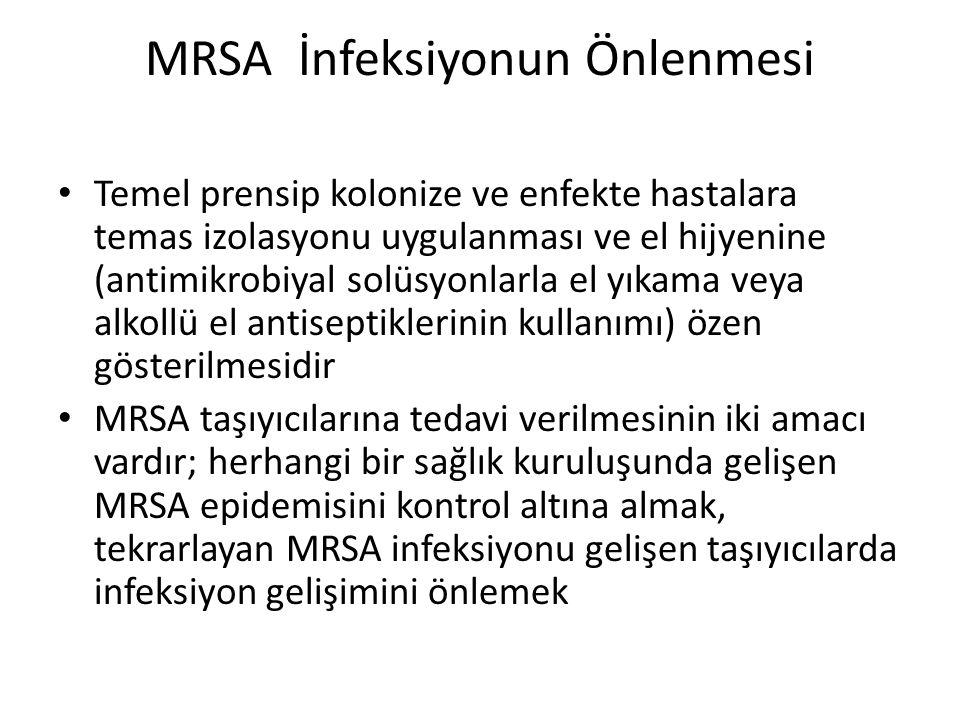 MRSA İnfeksiyonun Önlenmesi
