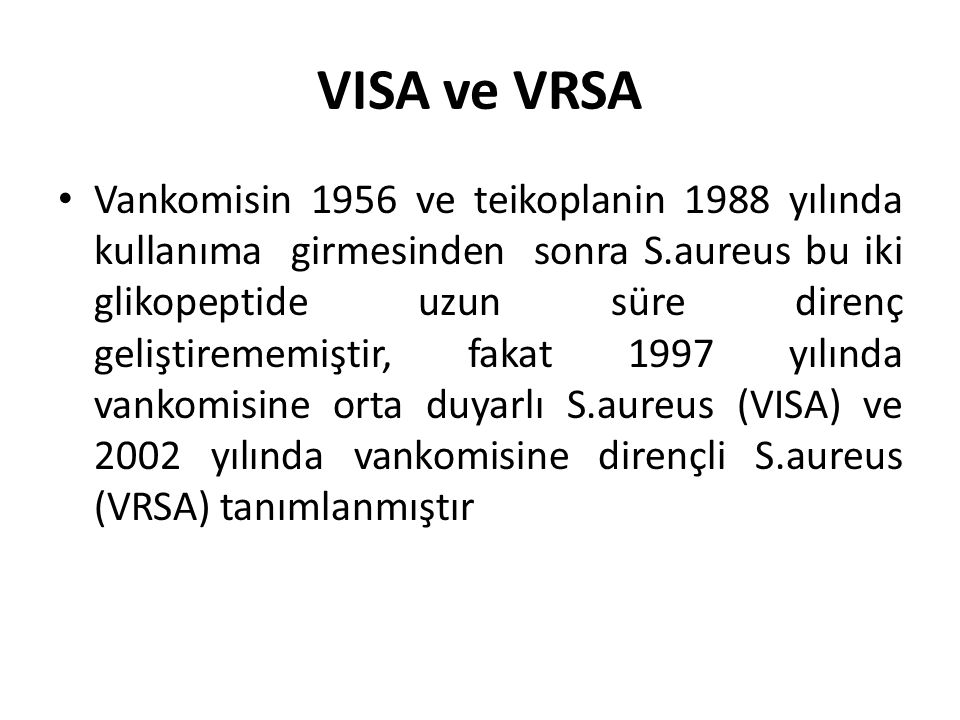 VISA ve VRSA