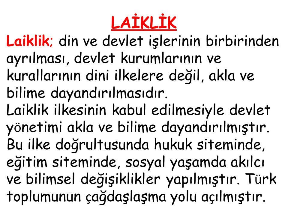 LAİKLİK