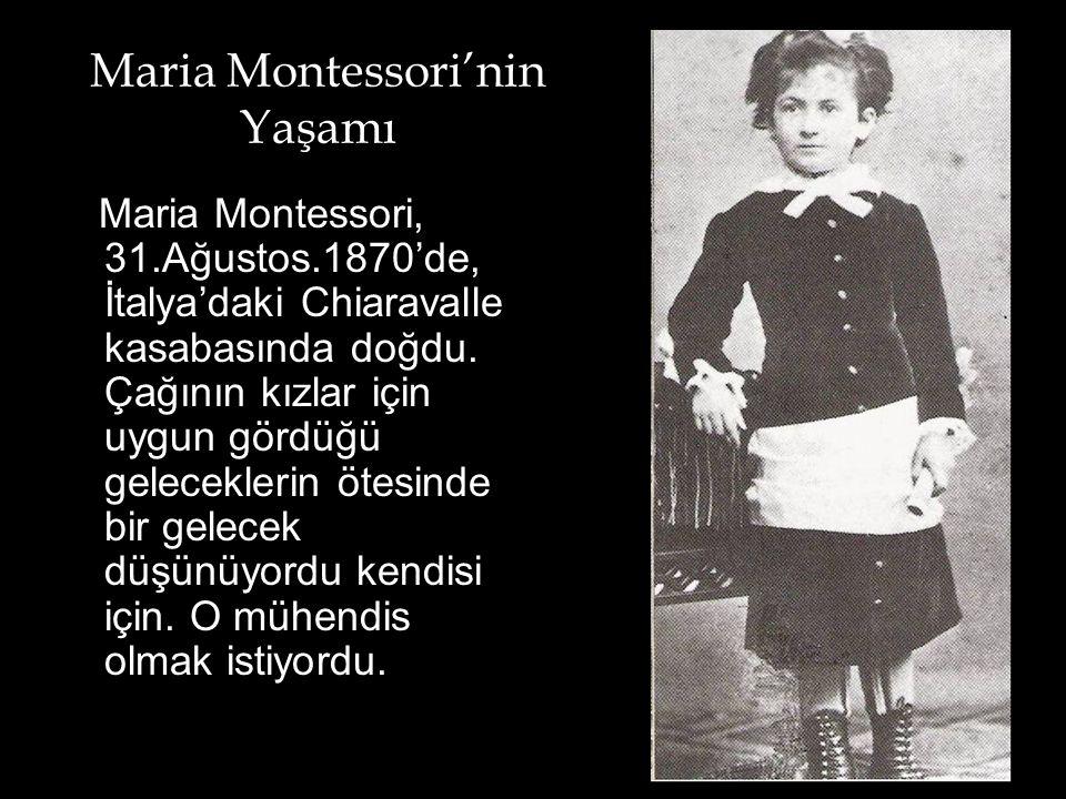 Maria Montessori'nin Yaşamı