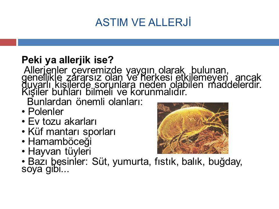 ASTIM VE ALLERJİ