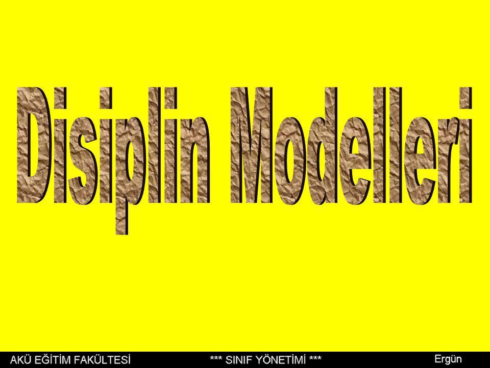 Disiplin Modelleri
