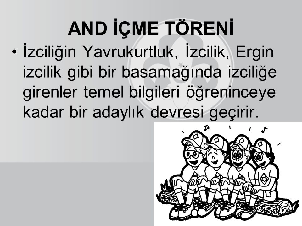 AND İÇME TÖRENİ