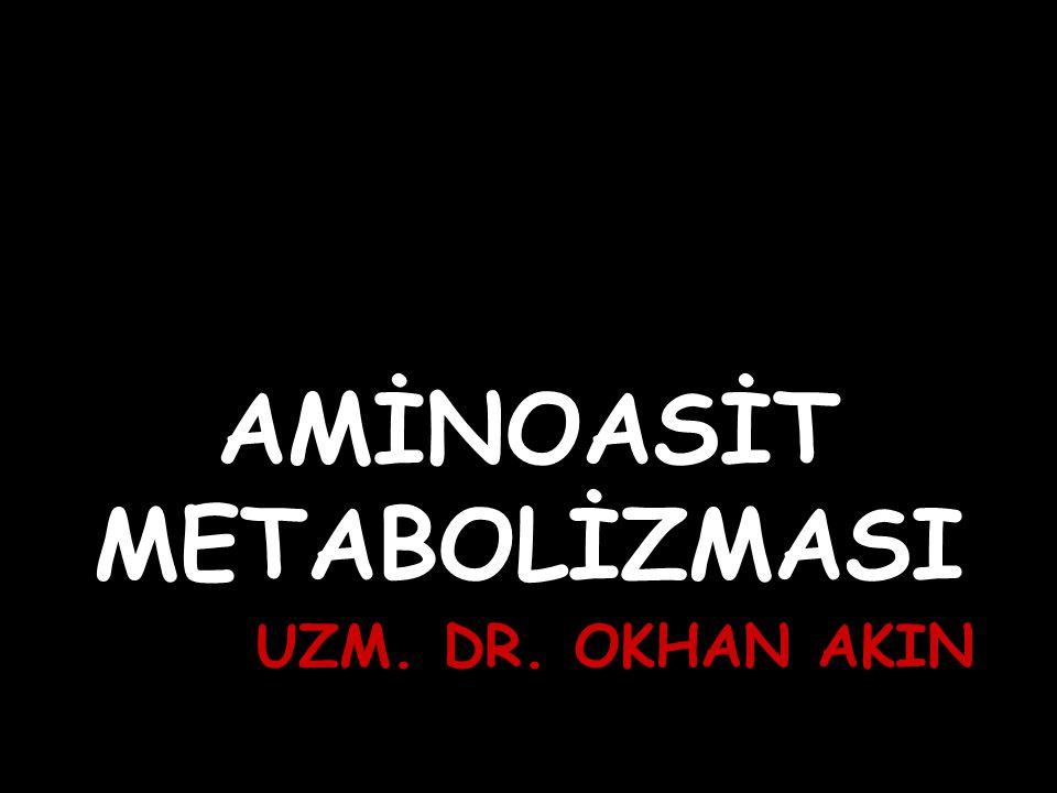 AMİNOASİT METABOLİZMASI