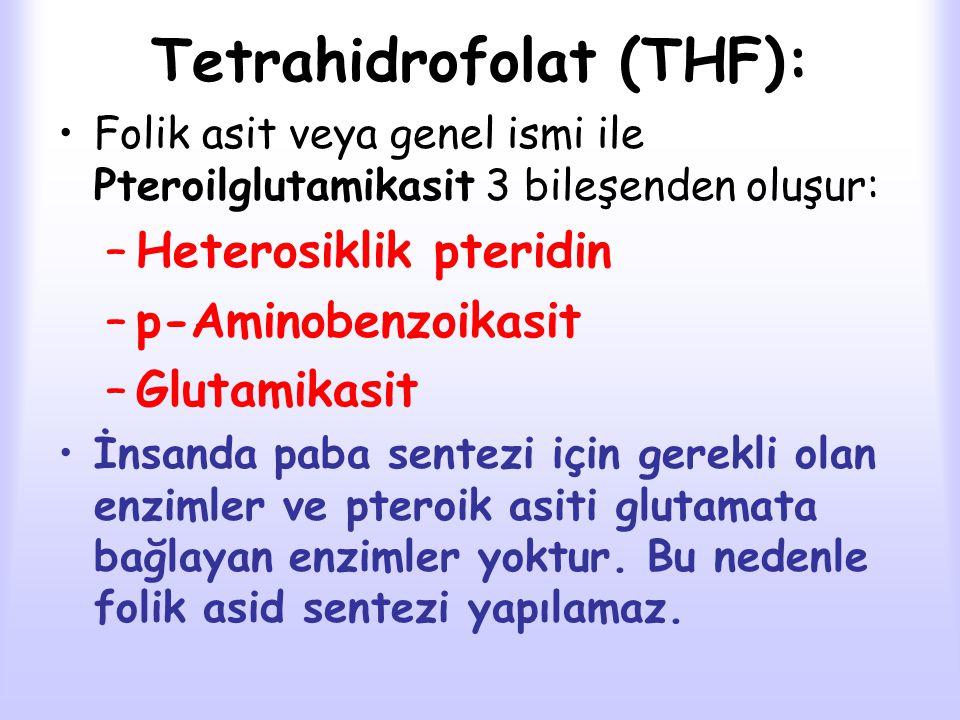 Tetrahidrofolat (THF):