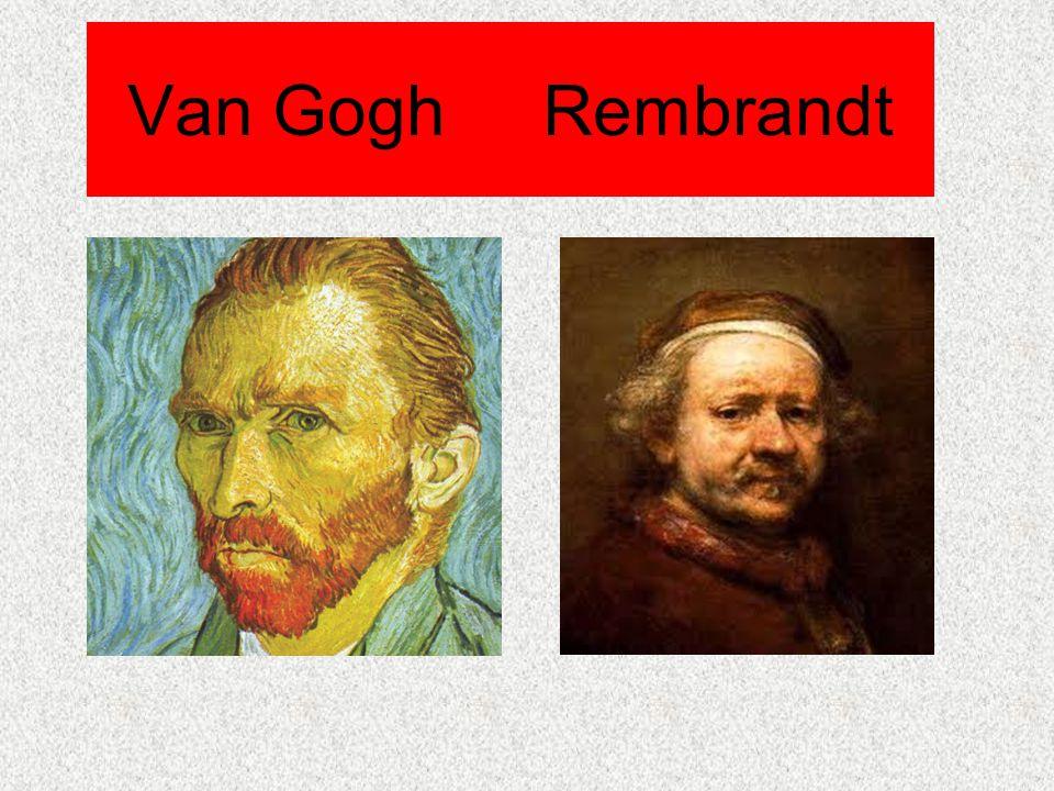 Van Gogh Rembrandt