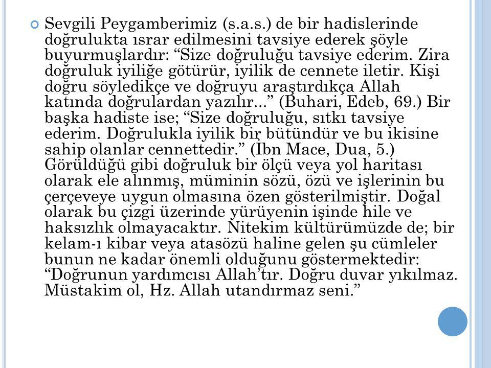 Sevgili Peygamberimiz (s. a. s