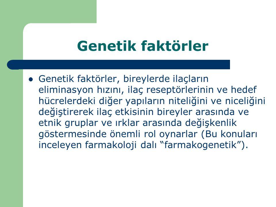 Genetik faktörler