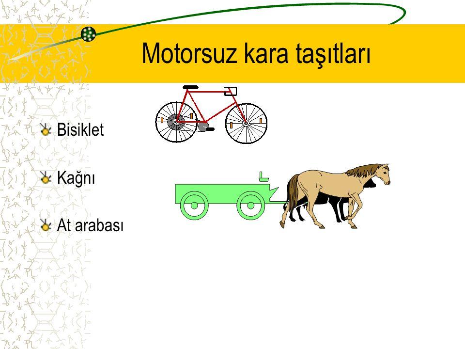 Motorsuz kara taşıtları