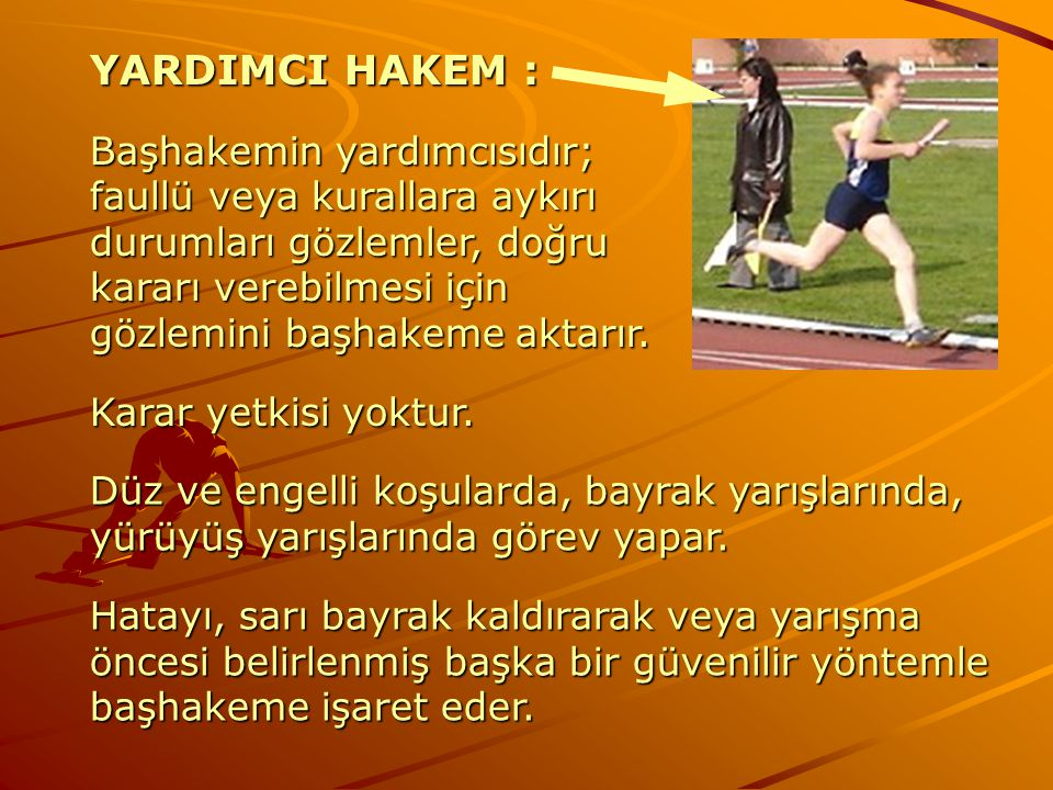 YARDIMCI HAKEM :