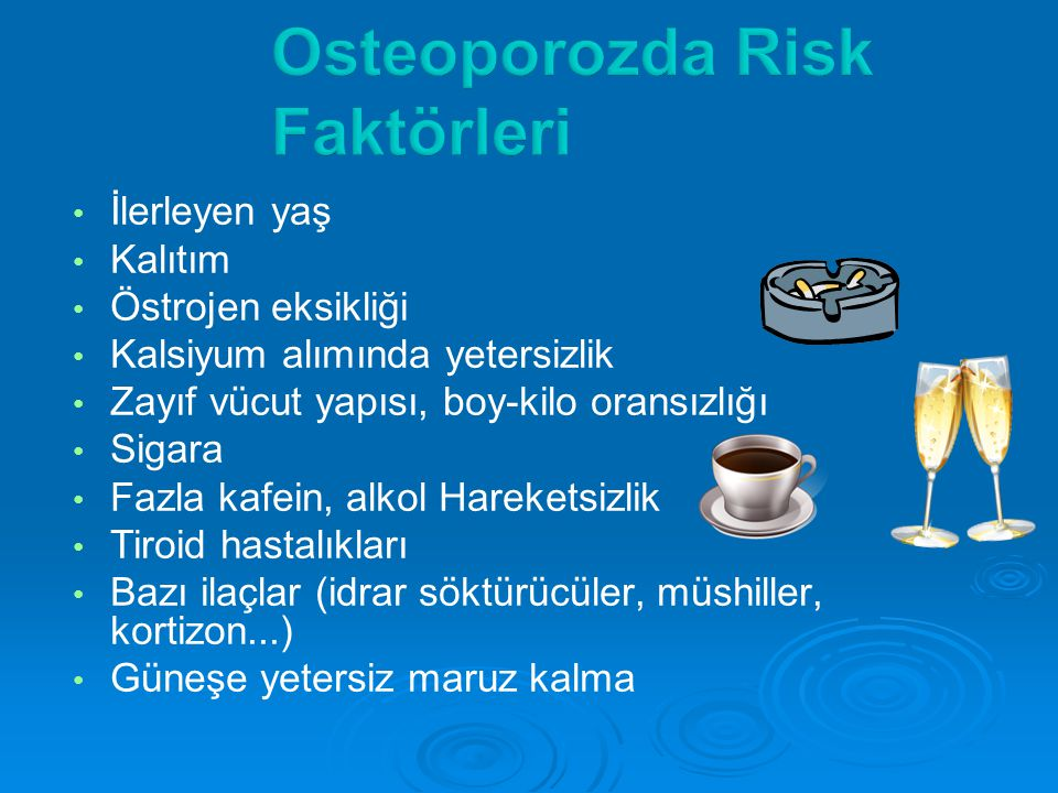 Osteoporozda Risk Faktörleri