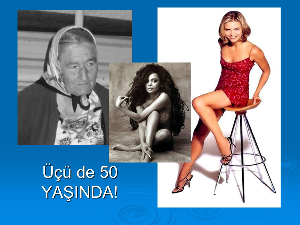 1925 2005 Üçü de 50 YAŞINDA!