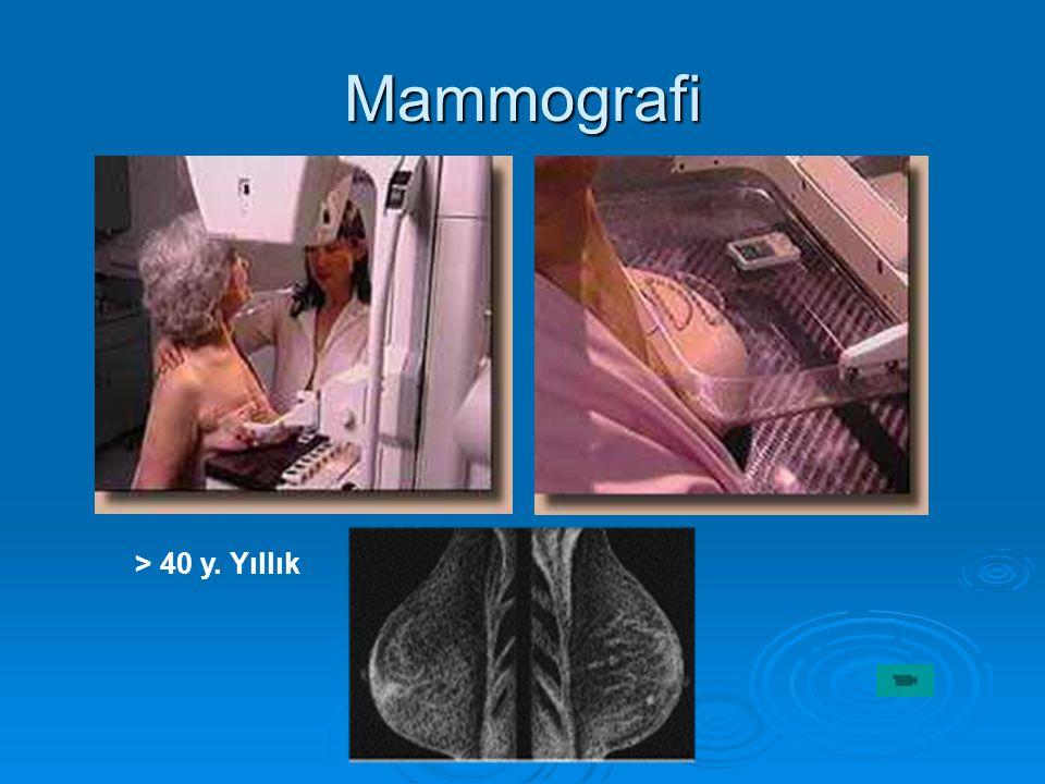 Mammografi > 40 y. Yıllık