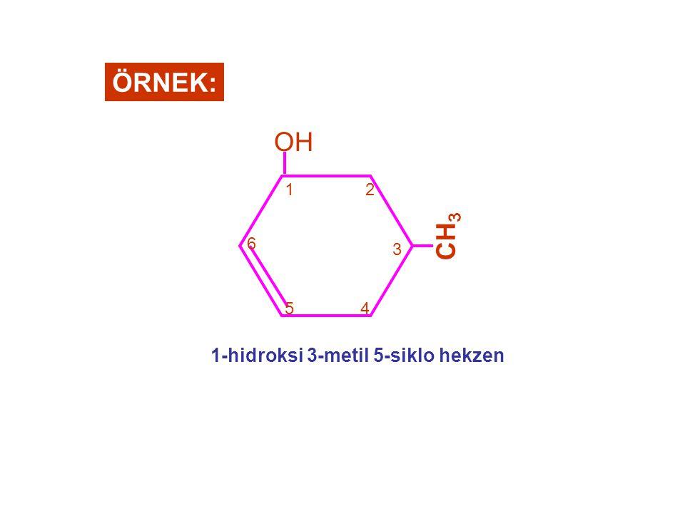 1-hidroksi 3-metil 5-siklo hekzen
