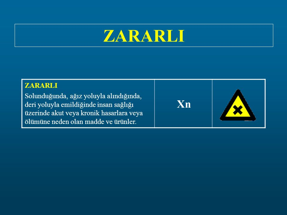 ZARARLI ZARARLI.