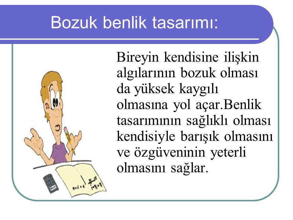 Bozuk benlik tasarımı: