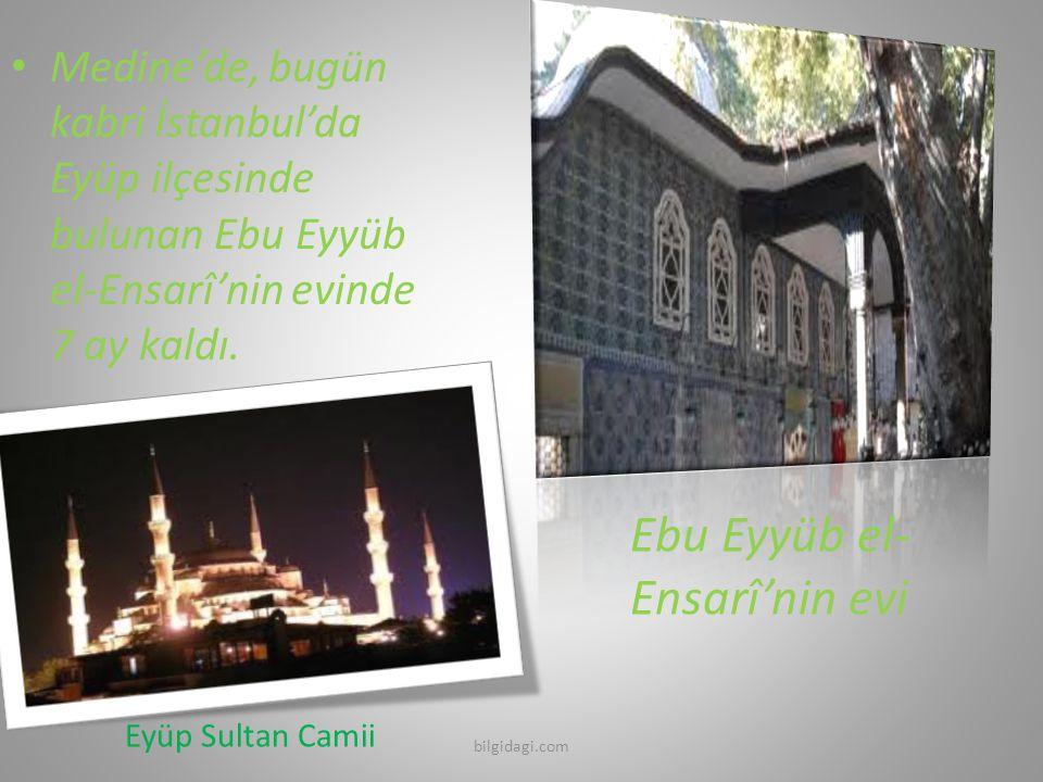 Ebu Eyyüb el-Ensarî'nin evi