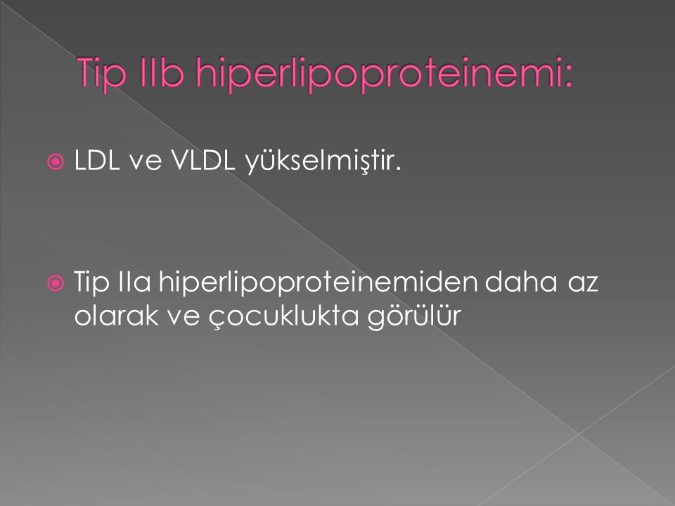 Tip IIb hiperlipoproteinemi: