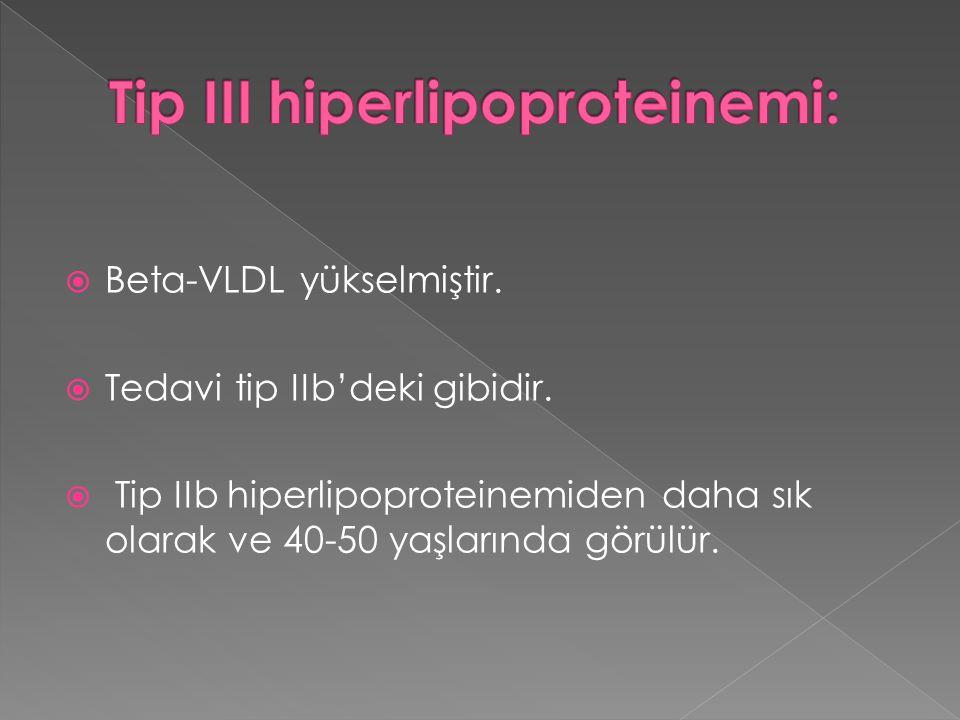 Tip III hiperlipoproteinemi: