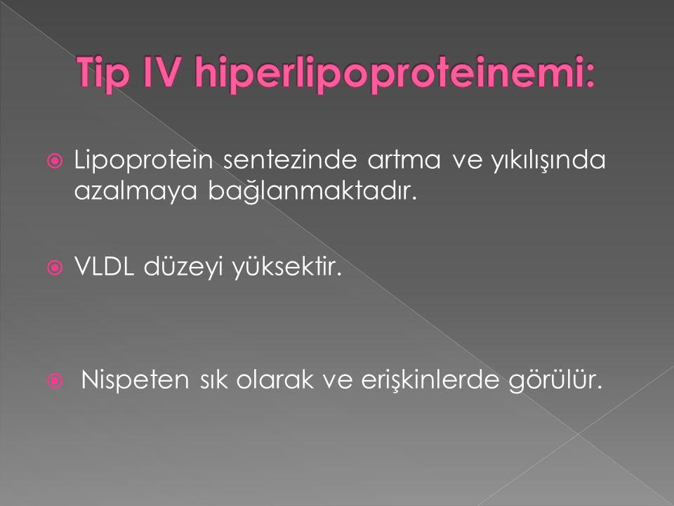 Tip IV hiperlipoproteinemi: