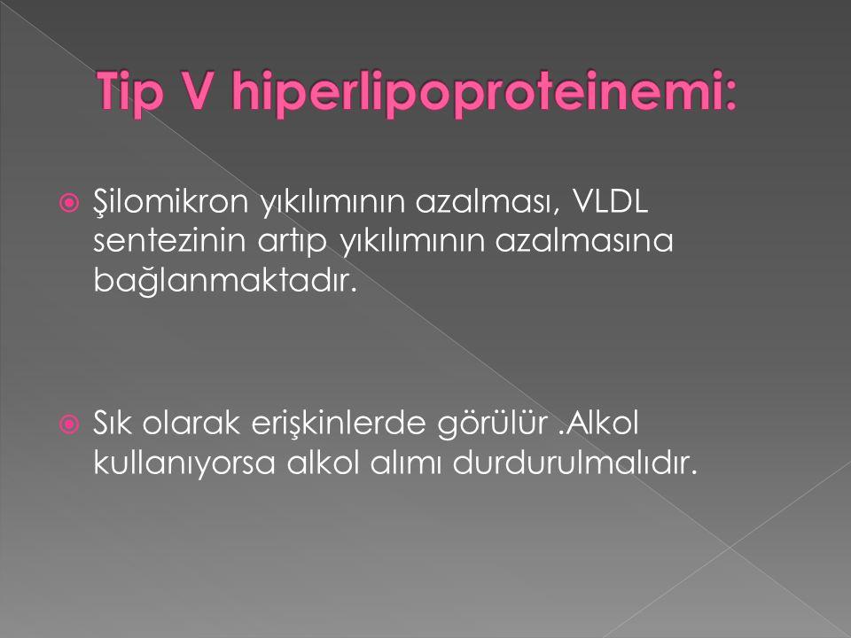 Tip V hiperlipoproteinemi: