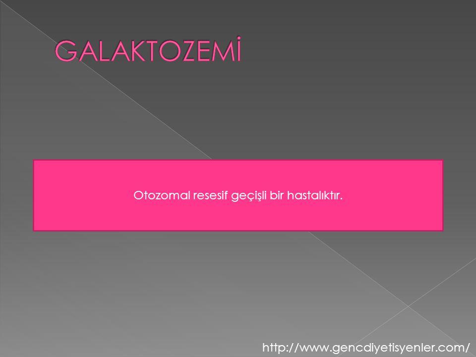 Otozomal resesif geçişli bir hastalıktır.