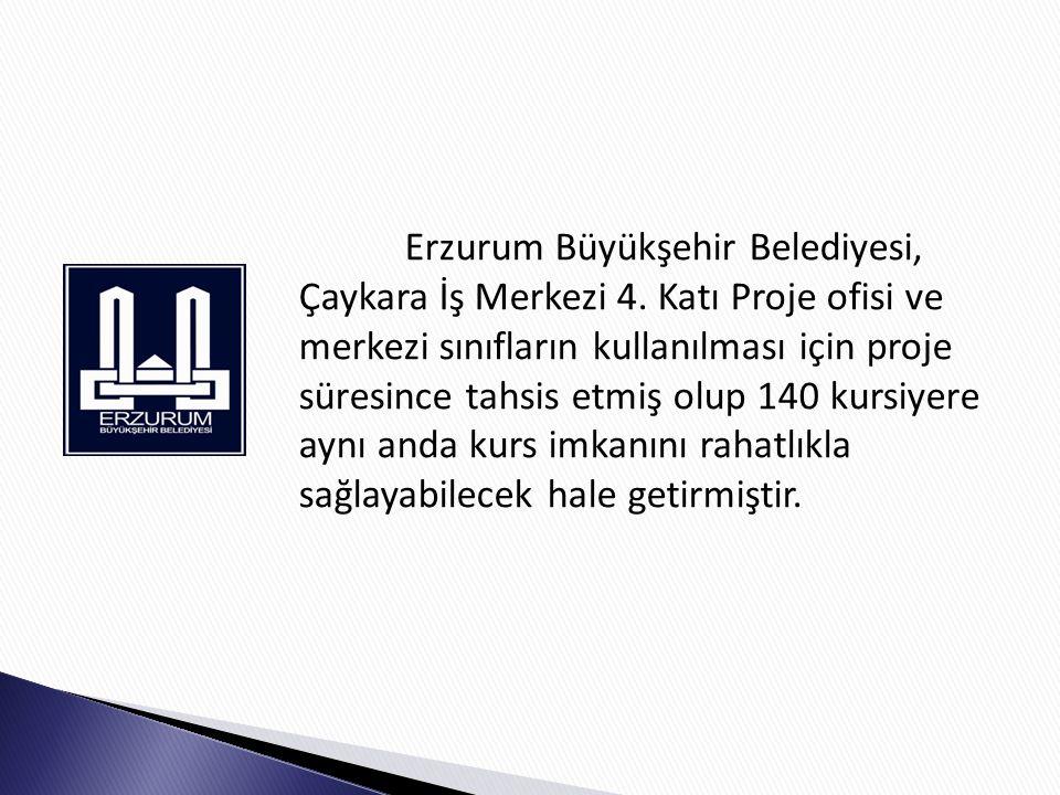 Erzurum Büyükşehir Belediyesi, Çaykara İş Merkezi 4