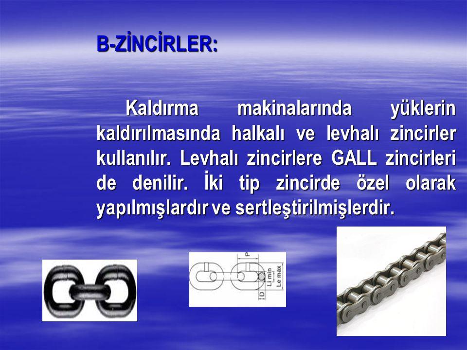 B-ZİNCİRLER:
