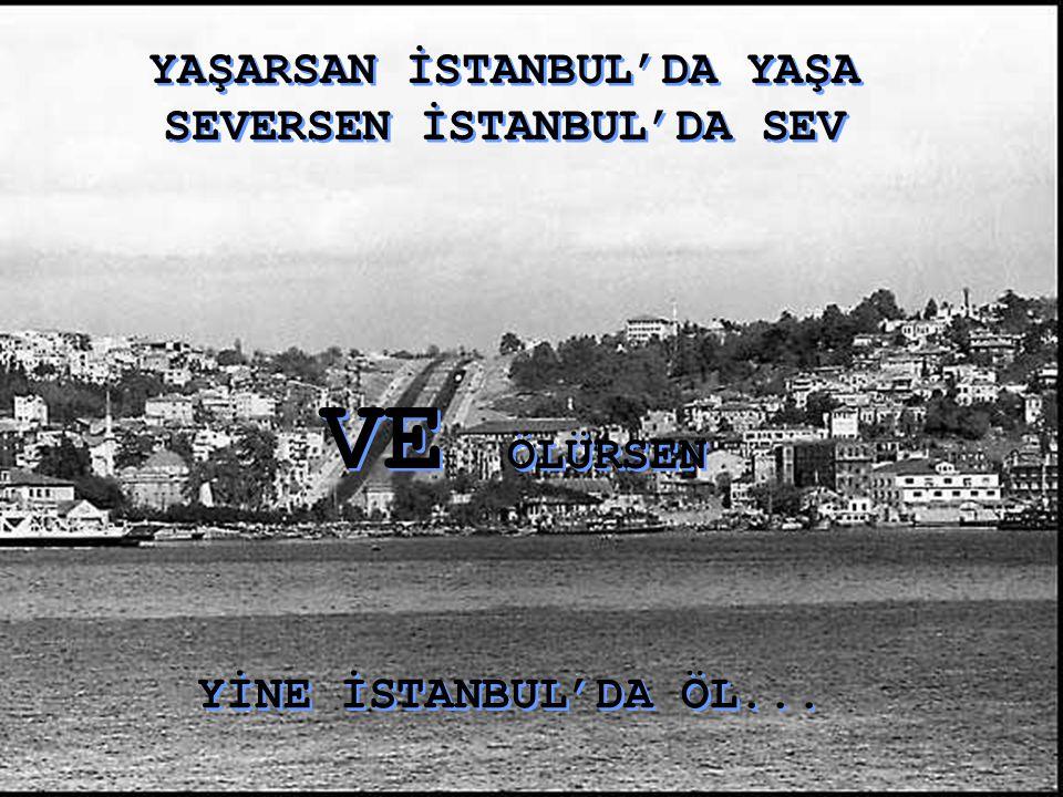 YAŞARSAN İSTANBUL'DA YAŞA SEVERSEN İSTANBUL'DA SEV