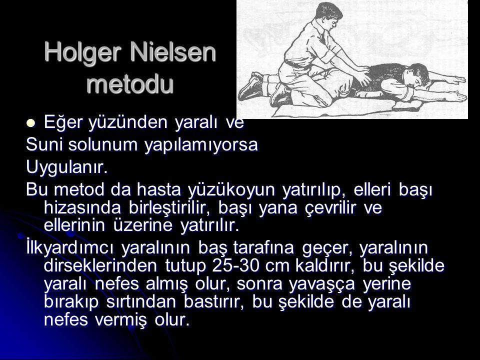 Holger Nielsen metodu Eğer yüzünden yaralı ve