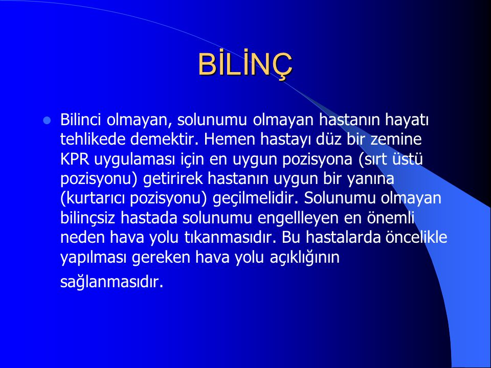 BİLİNÇ