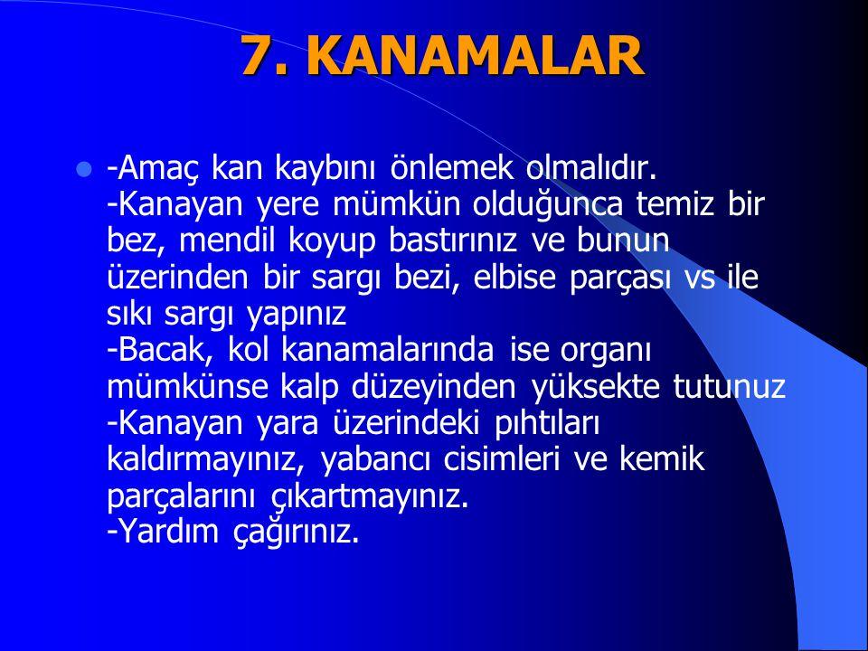 7. KANAMALAR