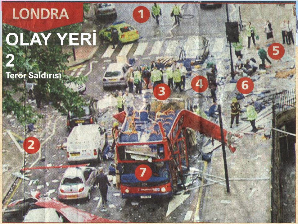 OLAY YERİ 2 Terör Saldırısı