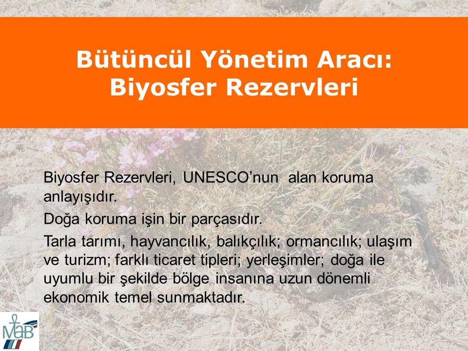 Bütüncül Yönetim Aracı: Biyosfer Rezervleri