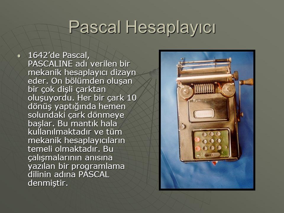 Pascal Hesaplayıcı