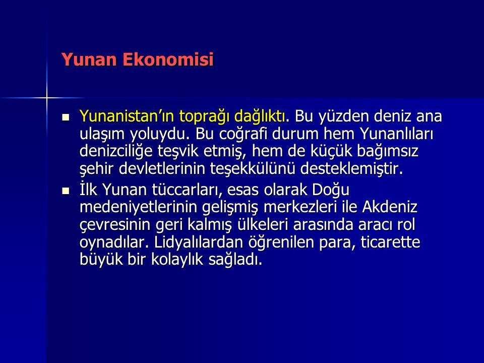 Yunan Ekonomisi