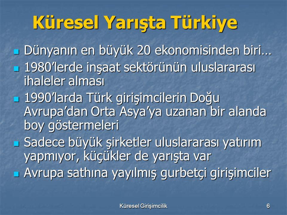 Küresel Yarışta Türkiye