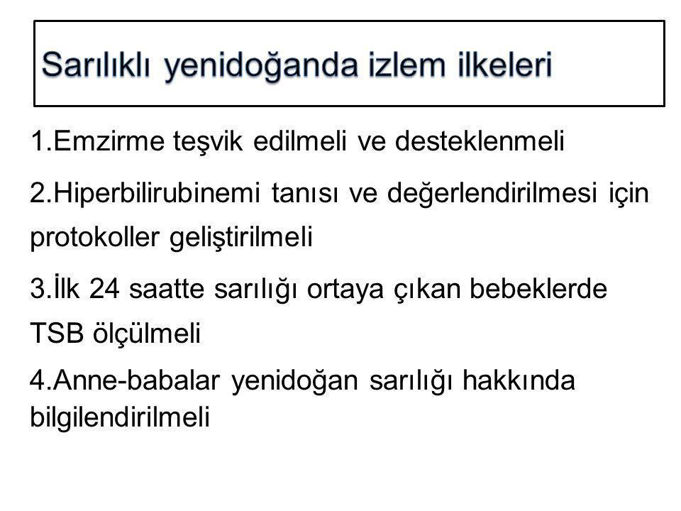 Sarılıklı yenidoğanda izlem ilkeleri