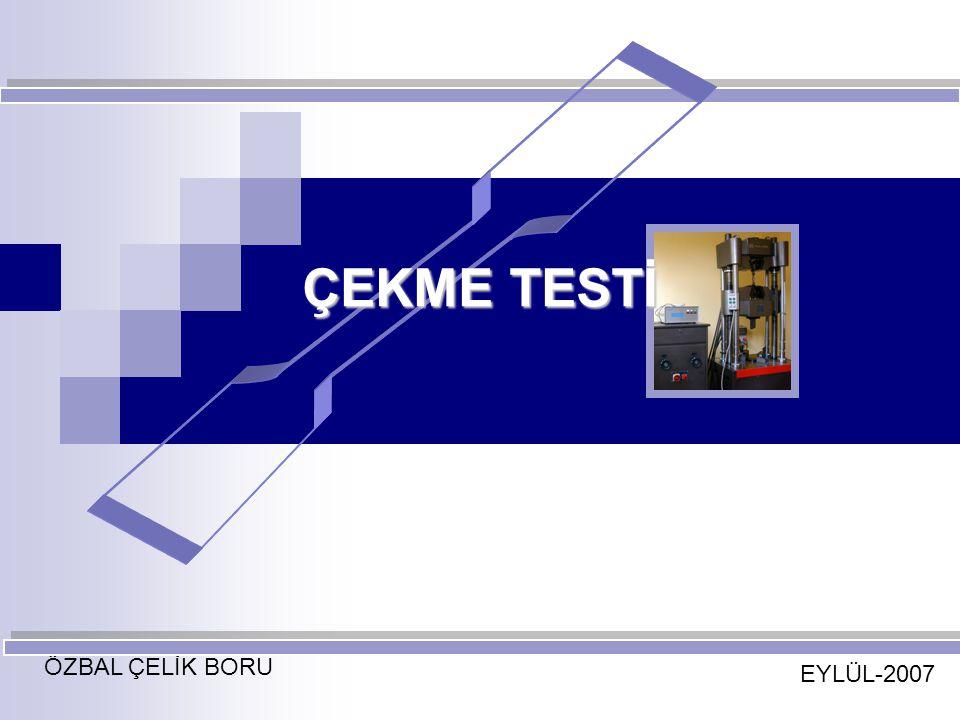 ÇEKME TESTİ